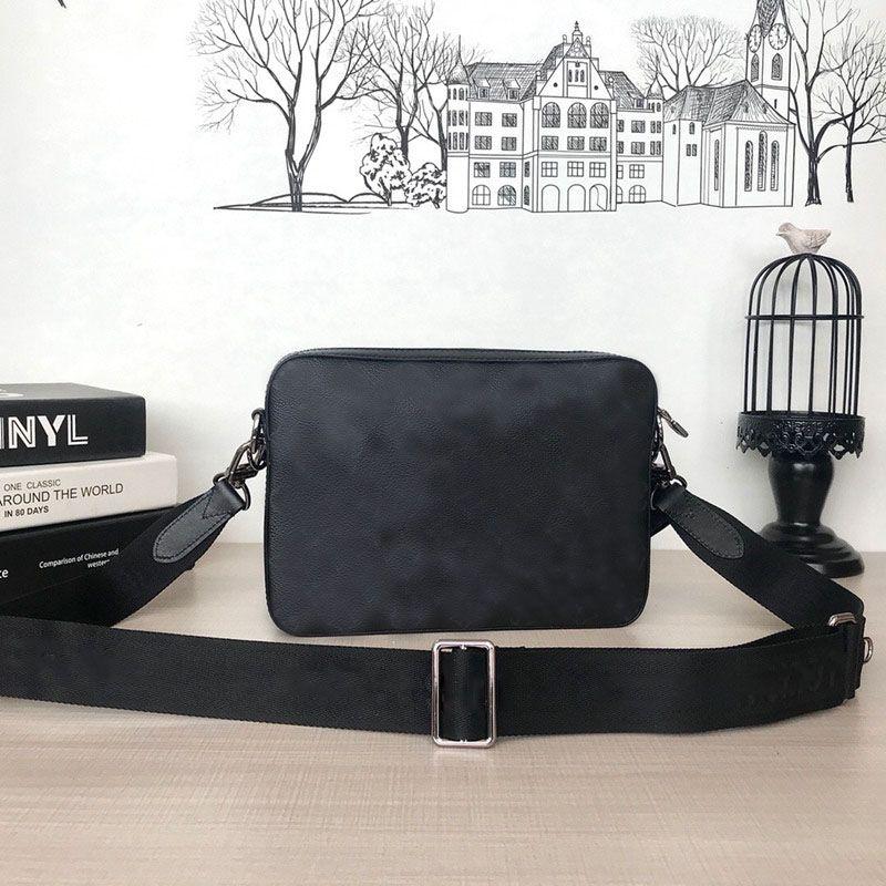 Spalla Messenger Trio Borse di Prestigio BAGS Crossbody Men M69443 Borsa BAG BAG BAG BAG BAGS Designer Messenger Shoulder Uomo ad alto cinturino WMGBX