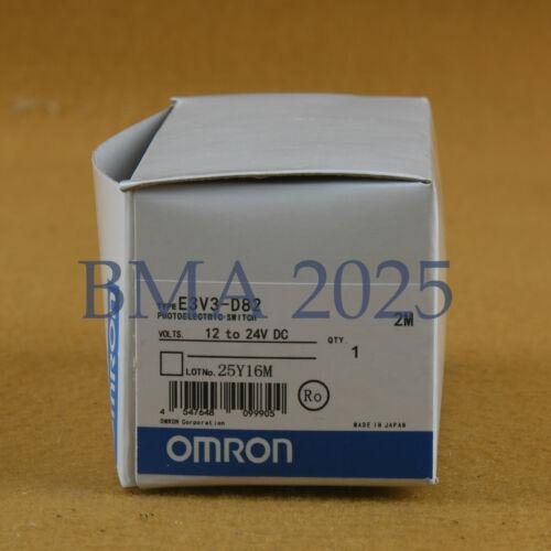 New In Box Omron E3V3-D82 One year warranty E3V3D82 DHL free shipping