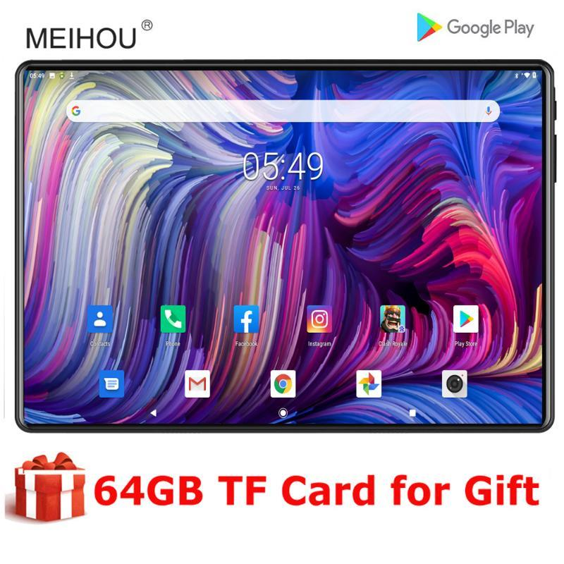 Global Version 10 Inch Tablets Octa Core 3G RAM 32G ROM Android 9.0 Dual SIM Card Phone 1280*800 IPS LCD Screen 4G Lte Pc 10.1