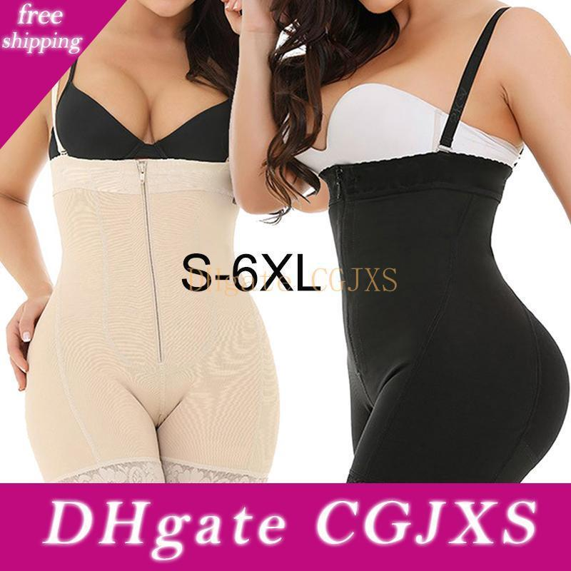 Femmes justaucorps Body Shaper Taille Entraîneur amincissants ventre Fitness Minceur Shapers gaine Fajas Plus Size