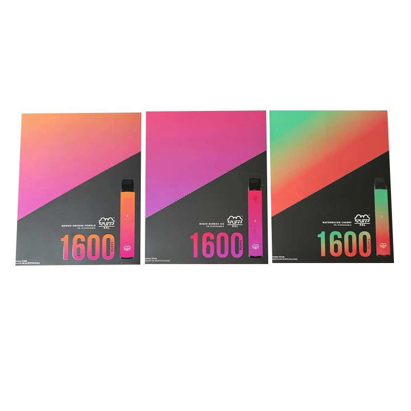 vaporizer2015 puff xxl bar 1600+ puffs disposable vape pen With Valid Scratch Code Puff XXL Vape Pen Device electronic cigarette Puff Bar