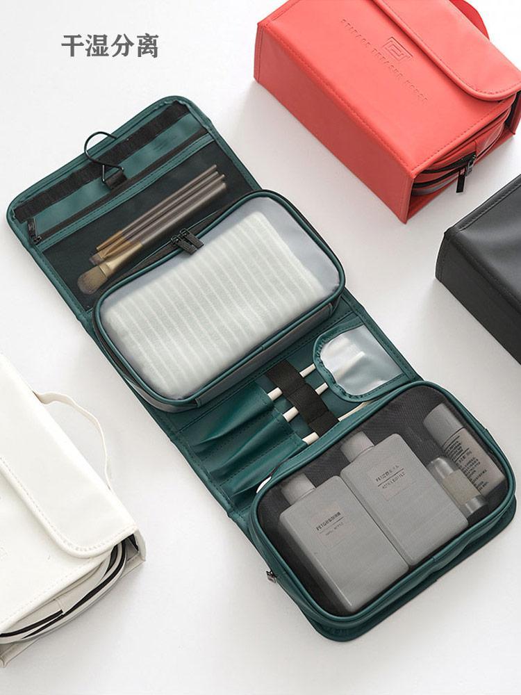 Web Celebrity High-Capacity Travel Nass Tragbare Business Bag Bag Kosmetische Lagerung Lagerung auf Dry Trennung Frauen Airline Vmbte
