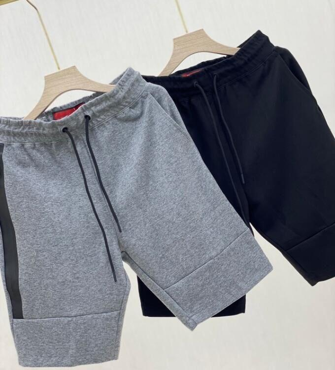 Classic Marke Top Qualität Dreidimensionale Druck Hohe Stretch Cotton Shorts Nahtlose Reißverschluss Herren Jogging Hosen Casual Hose