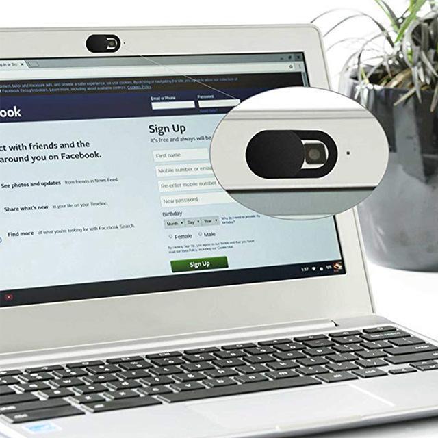 Len barato Caps 1 / 3pcs / 6pcs Mobile Anti-Hacker Protección de la mirada furtiva de privacidad de la cubierta de la cámara ultrafinos Shield Pegatinas para PC portátil