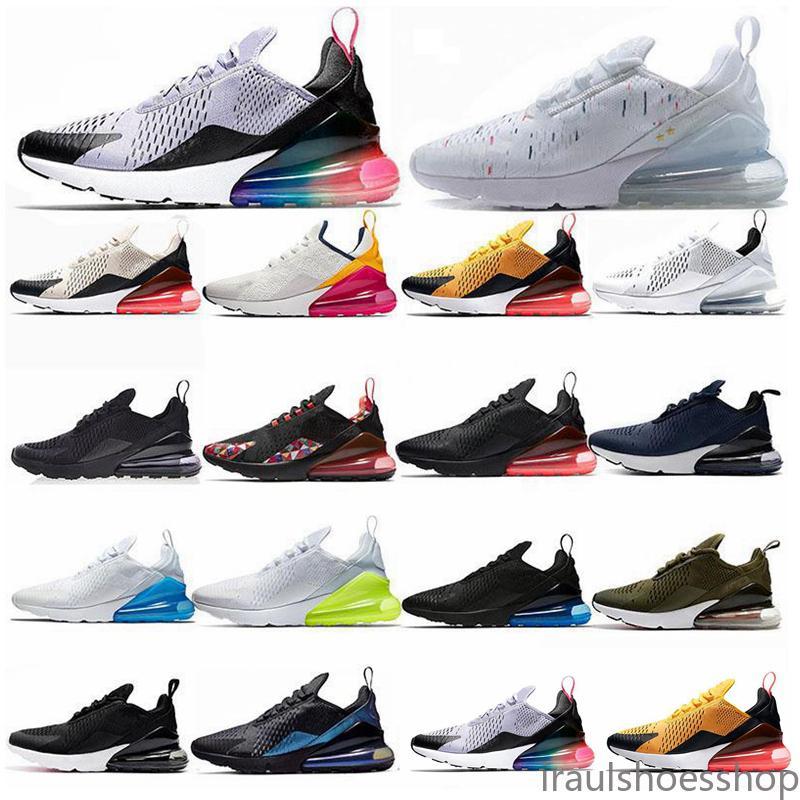 Nike Air Max 270 Flyknit Utility lässige Sneaker Designer-Schuhe 27c Trainer Straße Stern Eisen Sprite 3m cny Mann allgemein für Männer Frauen 36-45 AISP