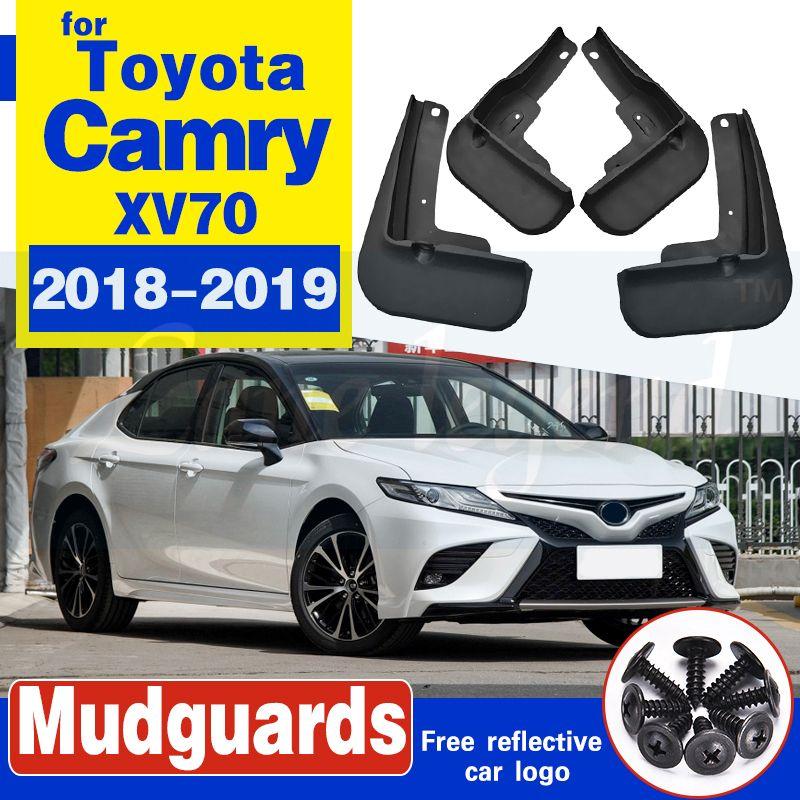 La boue de voiture Rabats pour Toyota Camry 2018 SE 2019 xse Sport Bavettes garde-boue BOUE Garde-boue Fender Styling Set Moulé