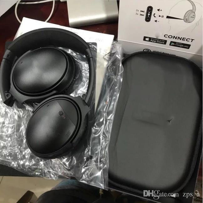 Novo Design Bo Wireless Headphones portáteis Folding Bluetooth Headset microfone com Q35 sem fio que executam Headset Sports Com Retail