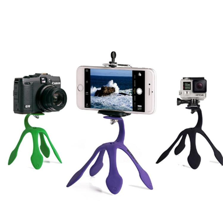 Tablet computer mounted octopus gecko spider mount mobile phone camera mount
