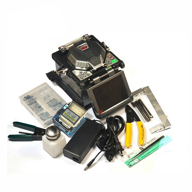 Бесплатная доставка Оригинальный Ruiyan RY-F600P FTTH Волоконно-оптические сращивания машины Сварочный аппарат