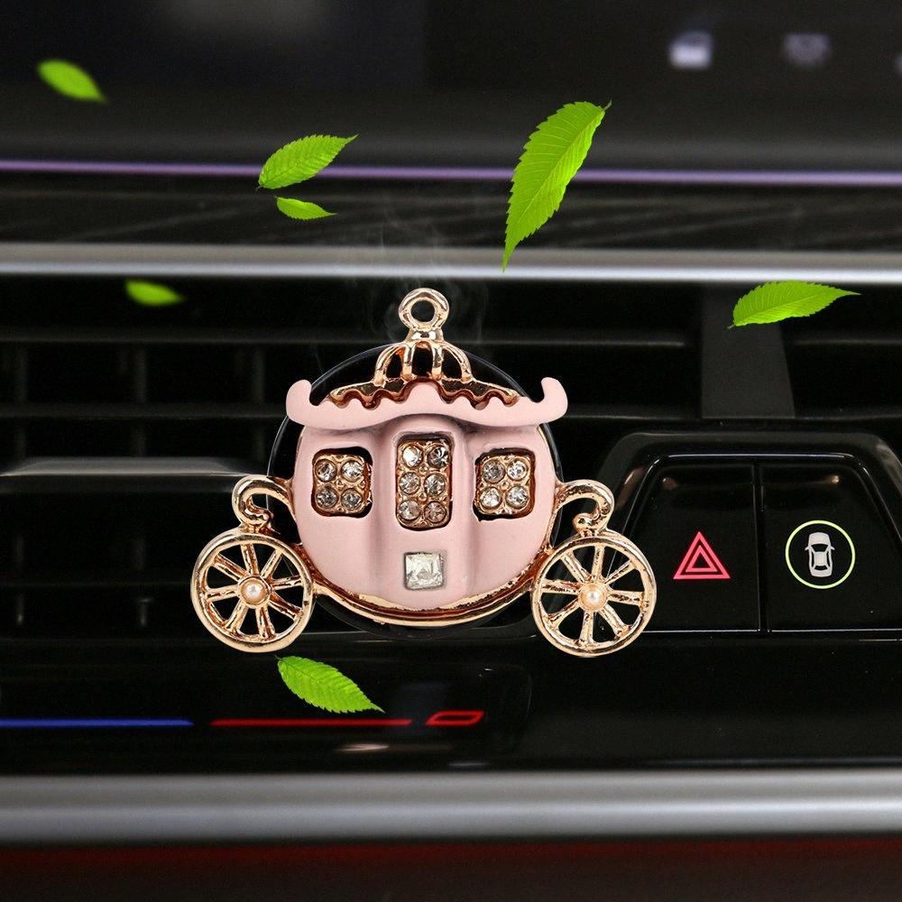 Zucca Air Car profumo della clip auto Deodorante Accessori Interni Solid Fragrance Auto ornamento b3c6 #