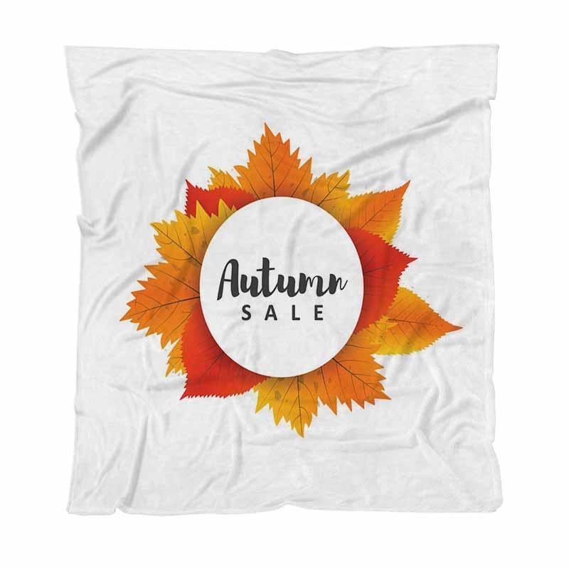 Mantas de otoño de colores personalizados digital completa Impresión franela otoño de coches Sofá cama Hoja de Manta Manta Nueva manta del aire acondicionado 171