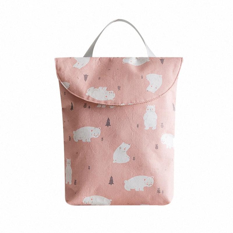 Baby Newborn Diaper Bag Waterproof Mom Bag Infant Diaper Nappy Pouch Reusable Travel Outdoor Storage INxm#