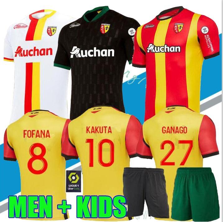 2021 20 21 Rc Lens Soccer Jerseys Maillot De Foot Fofana Ganago Kakuta Gradit Fortes Perez 2020 2021 Home Away Third Men Kids Kit Football Shirt From Pannanjiang168 10 91 Dhgate Com