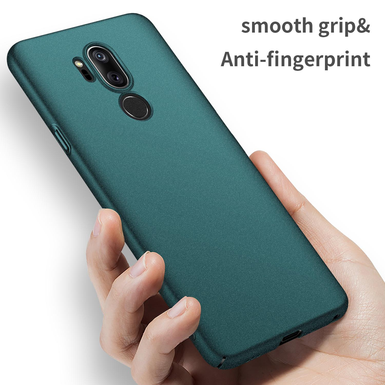 For LG G7 ThinQ Case Luxury High quality Hard PC Slim Coque Matte Skin Protective Back cover cases for LG G7 ThinQ phone shell