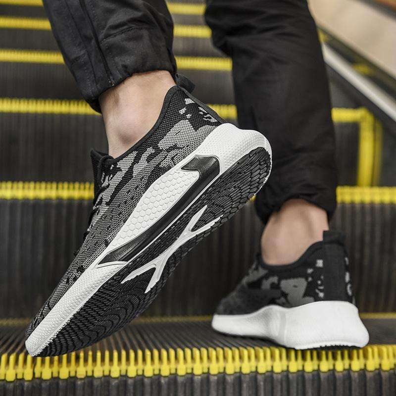 2020 nuevos zapatos de las zapatillas de deporte, zapatos, zapatos zapatillas de deporte corrientes de otoño e invierno corrientes ocasionales de los hombres de la manera de las MujerZapatos fryiD