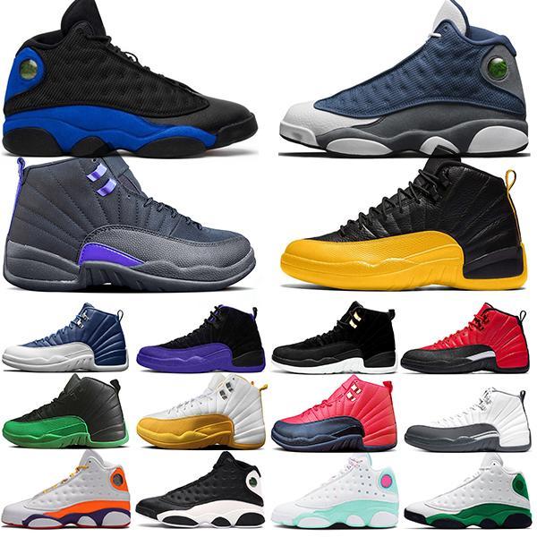 Nike Air Jordan 13 Горячие мужские ботинки баскетбола Jumpman 13 Flint 13s Остров Зеленый Бред Reverse Он доигрались Мужчины Женщины Спорт кроссовки Размер 36-47
