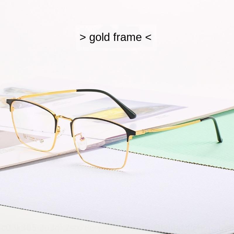 dos homens clássicos e óculos Proteger miopia titânio miopia quadro das mulheres enquadrar Kuli literatura e na arte quase protecção Blueglasses JZUn0