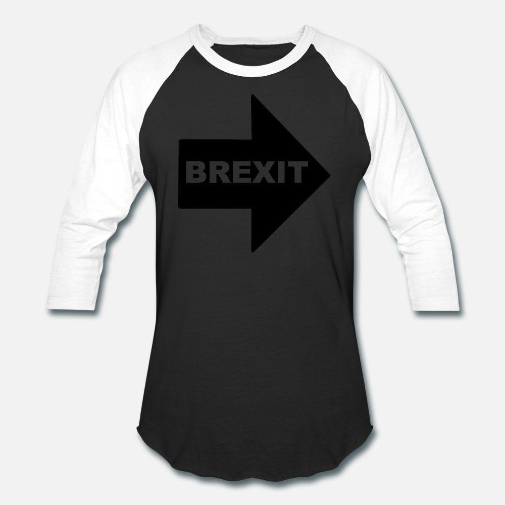 brexit uomini della maglietta creano Maglietta S-XXXL lettere interessanti base Spring Pictures autunno camicia