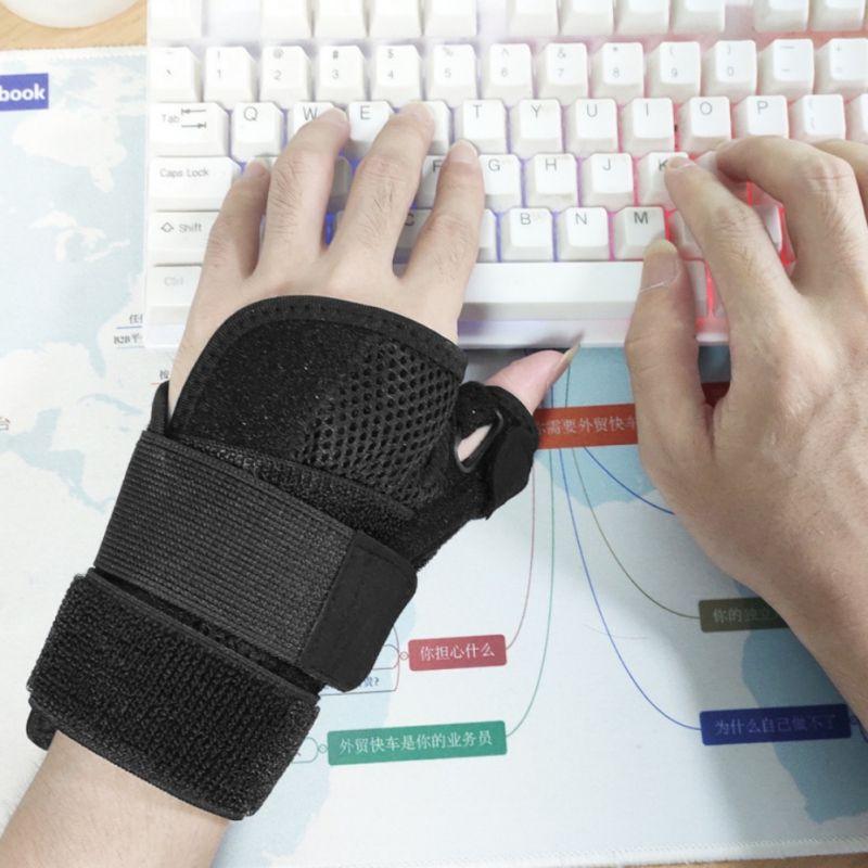 Support de poignet pouce Brace Splint poignet stabilisateur main antidémarrage Entorse Fracture Tendon gaine pouces Trigger Protector