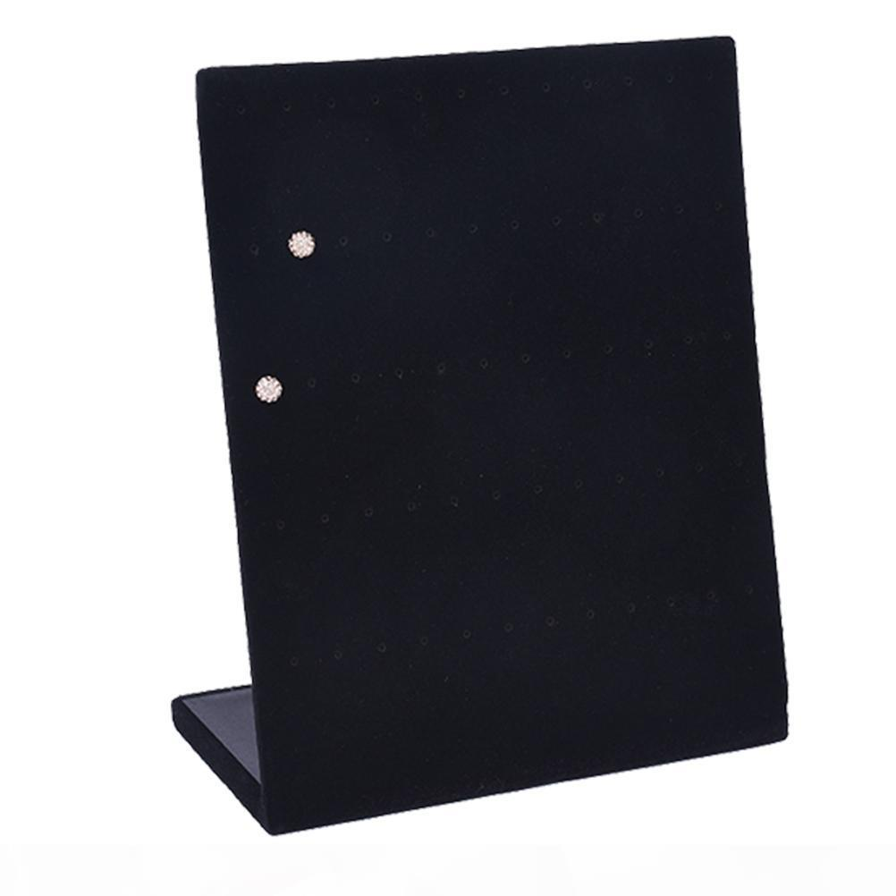 Titular robusta 60 Posiciones joyería soporte de exhibición del estante Mostrar pendientes pendientes Organizador para Pendientes