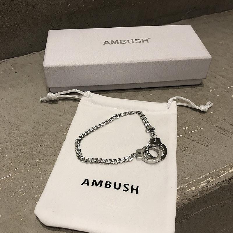 Bijoux Cadeaux EMBUSCADE Femmes Hommes Menottes style Bangle Bracelet ALYX EMBUSCADE Fashion Bracelets Homme Femme