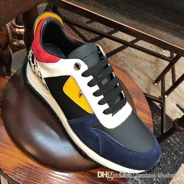 Новые прибытия мужские ботинки баскетбола способа роскошных людей вскользь ботинки NAIL обувь Кроссовки кожаные удобное платье shoess мужчин работает shoess