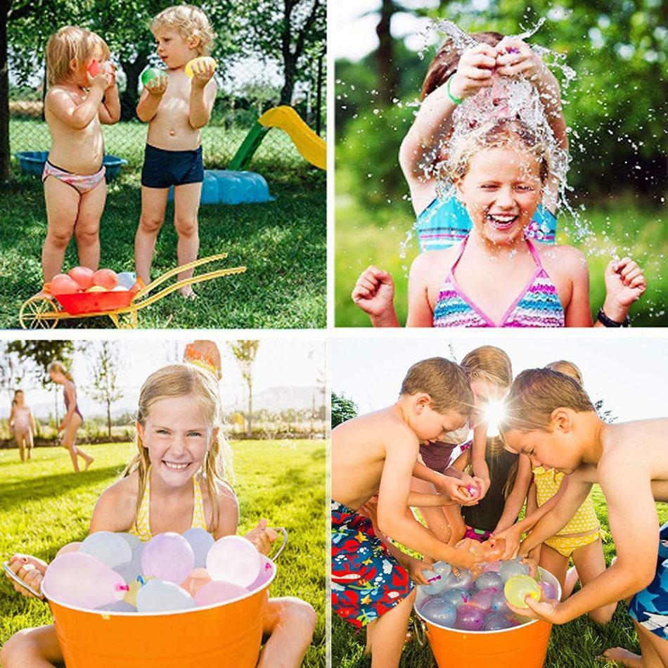 111pcs ballon d'eau incroyable rempli magie ballon enfants fournitures d'eau Jeu Guerre Enfants été en plein air Beach Party Toy 02