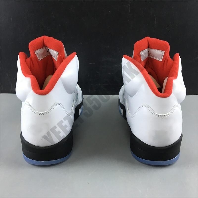 5s OG 5 Inspire Огонь Красный Jumpman Баскетбол 2019 Обувь кожа верхних Проектировщик мужские Новые моды Тренеры Спортивные кроссовки Размер 7-13 DA1911-102