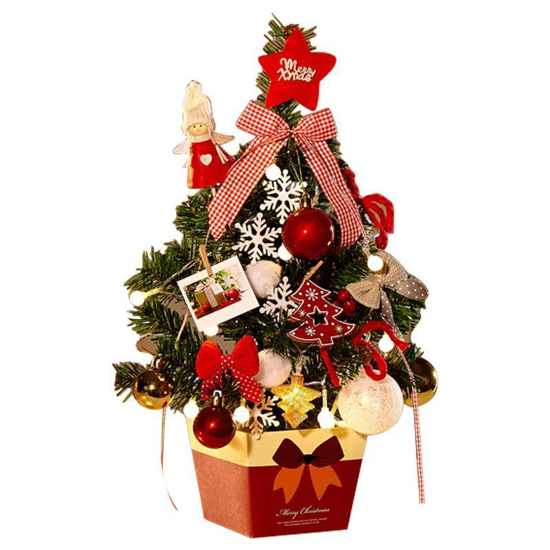 Décoration de Noël Arbre de bureau Mini Arbre de Noël 45CM Décoration Pendentif