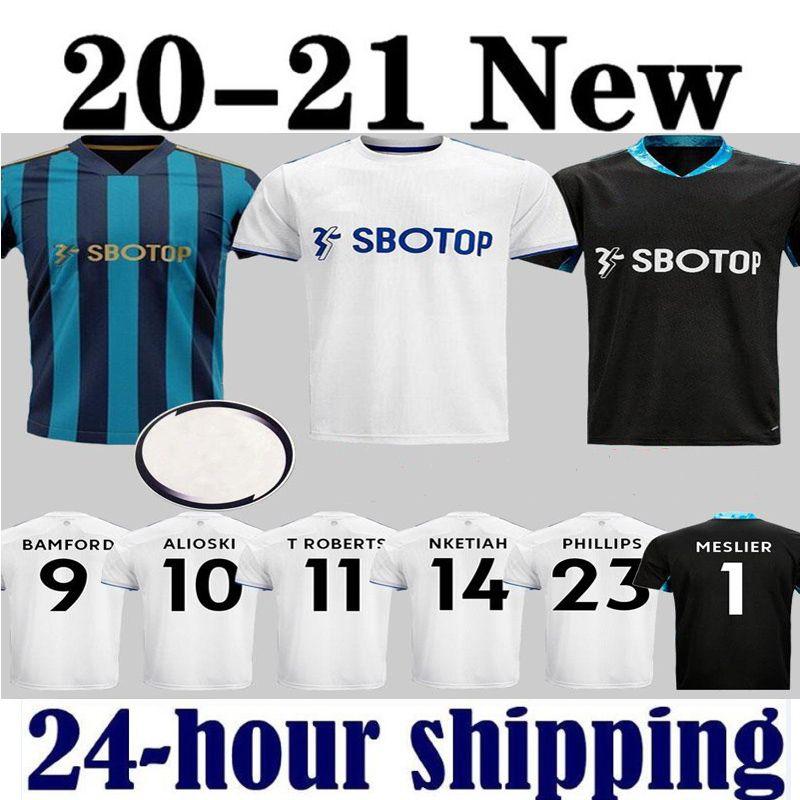 20 21 Leeds soccer jersey United 100th anniversary LEEDS 2020 2021 COSTA Alioski Phillips BAMFORD Men Kids kits football shirt sets