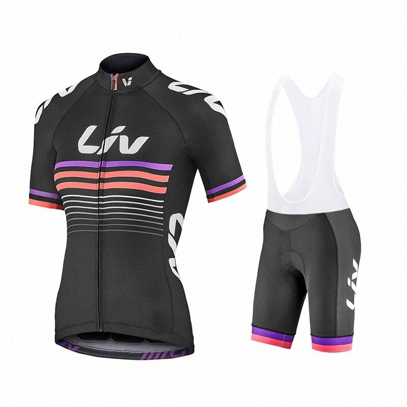 cycling woman clothing liv 2020 Bike clothes Quick-Dry Clothing Ropa Ciclismo uniformes Maillot Sport Wear Cycling Jerseys Sets SBbQ#