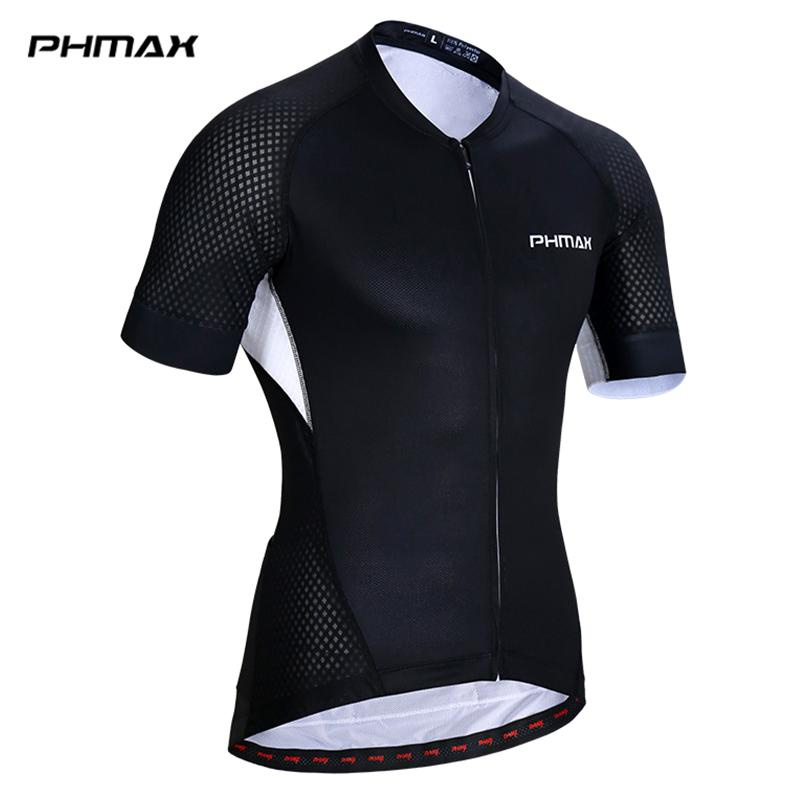 PHMAX Pro Cycling Jersey 5 Colors Summer MTB Bike Wear Cycling Clothes Bicycle Clothing Ropa For Man Women