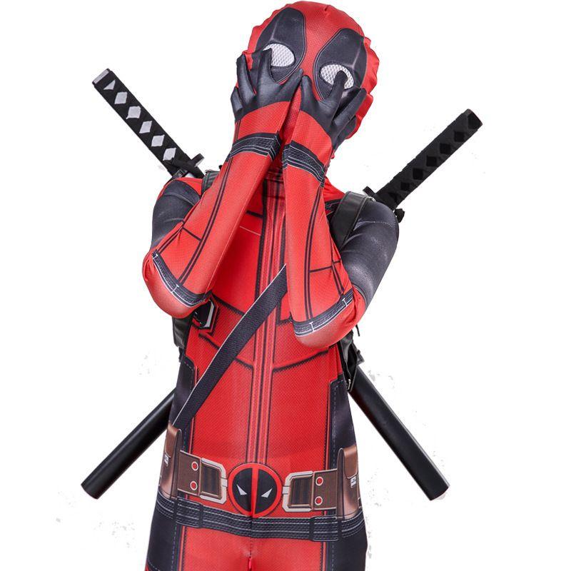 Deadpool tights cosplay anime clothing for children's Avengers costume Deadpool