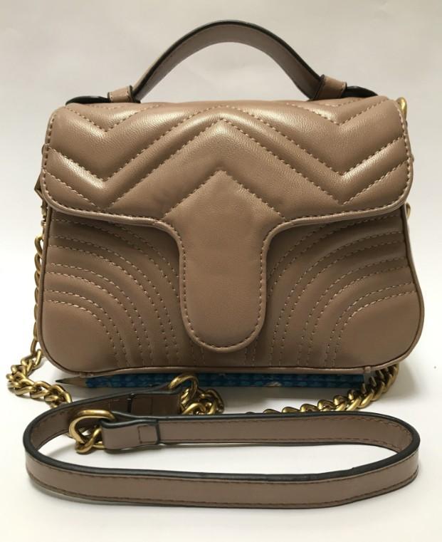 Nova Qualidade 2020 High Senhoras Imprimir Handbag Messenger Ombro Corrente Hot Saco Retro Mulheres Bolsa 5 Cor Saco De Cor Fashion Snall
