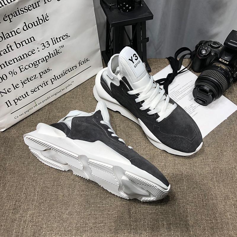 Adidas Shoes Zapatos Y3 Y3 zapatos de moda zapatillas de deporte Deportes mocasines mujer para hombre del zapato para los hombres corredores cuero genuino de la llegada formadores