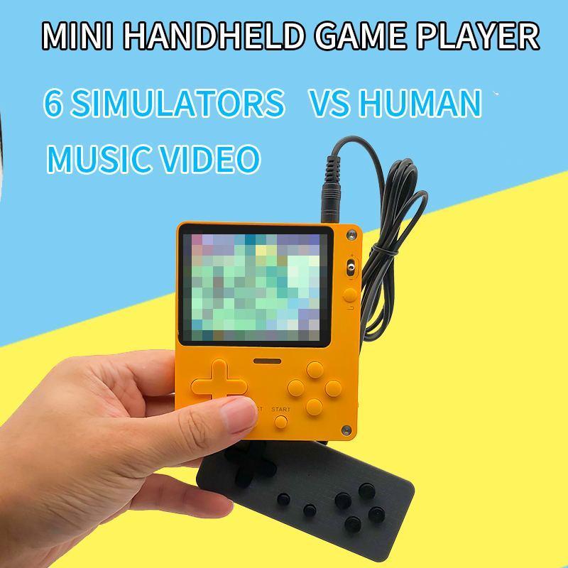 Ultra-fino Mini Arcade dois jogadores Battle for NES 6 Emuladores Suporte transfronteiriços Consolas Handheld Game Players Console