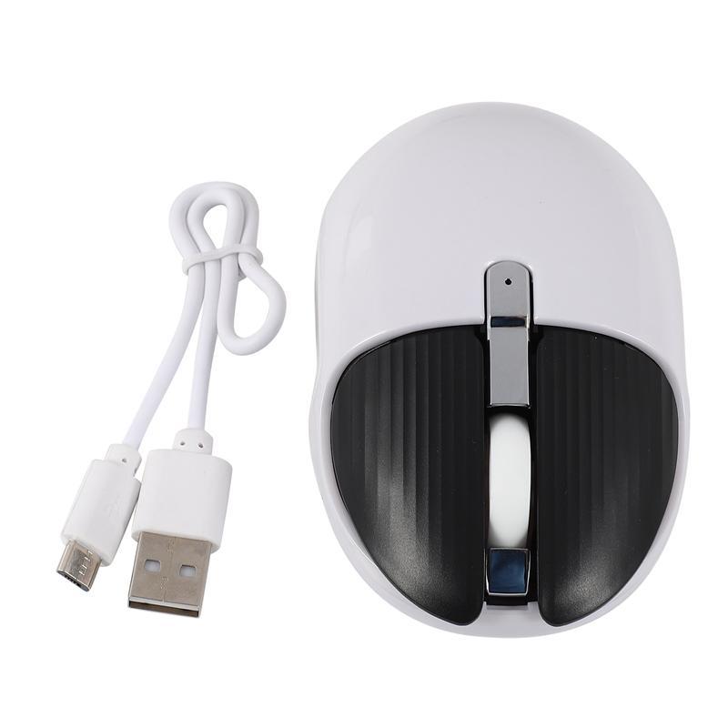 Souris USB sans fil, conçu ergonomiquement silencieux Mini Optical Gaming Mouse Gaming Portable