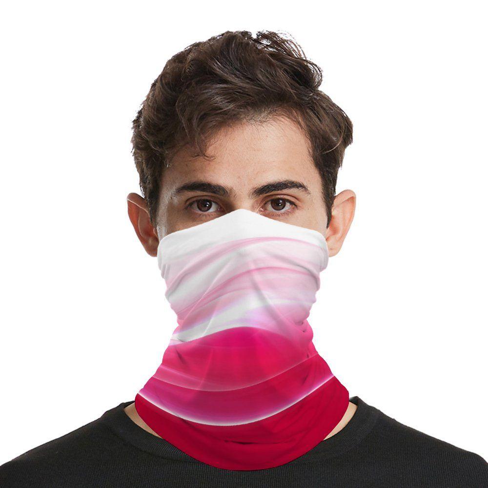 Masque Visage sans couture Bandana Foulard pour Festivals et extérieur Lavable Bouche Masque Crème solaire respirante tête Wrap Balaclava pour Hommes Femmes