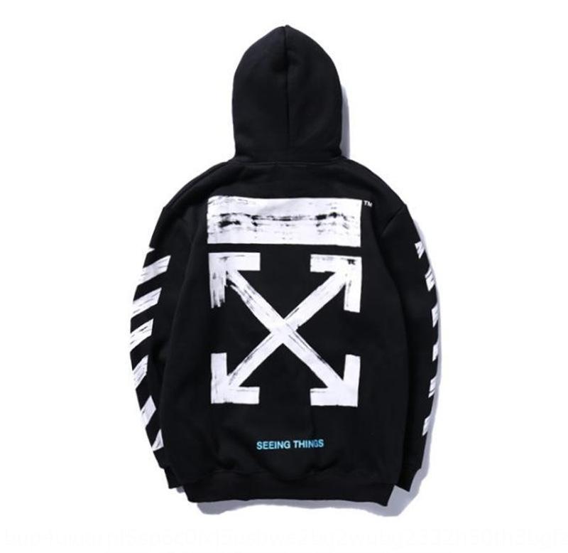 E9ugR 2020 abrigo de grafiti Joven suéter flecha caliente caliente boceto jersey camiseta básica de terciopelo