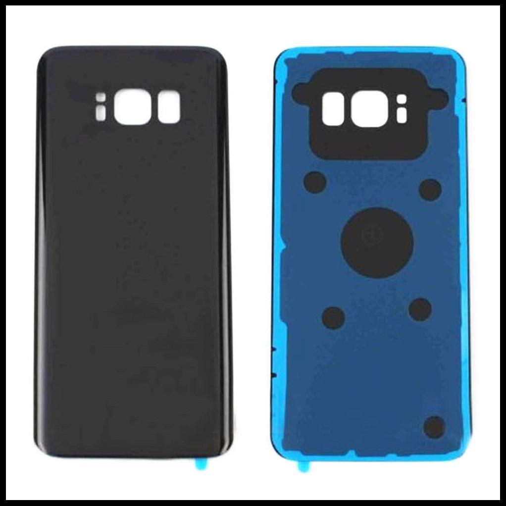 cgjxs 10pcs Original New Back Glass Replacement For Samsung Galaxy S8 G950 /S8 S8 Plus G955 G955f Battery Cover Rear Door Housing Case Stick