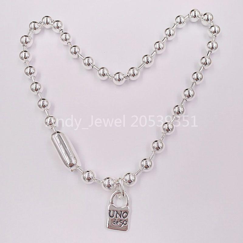 Authentic Necklace Snowflake Friendship Bracelets Uno de 50 placcato gioielli adatti al regalo in stile europeo COL1390MTL0000U