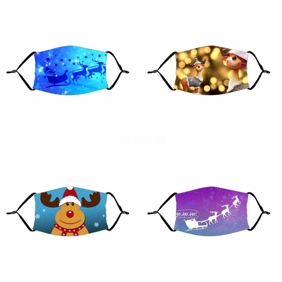 Washable Face Masks Supplies Dustproof Print Mask Universal For Men And Women#478