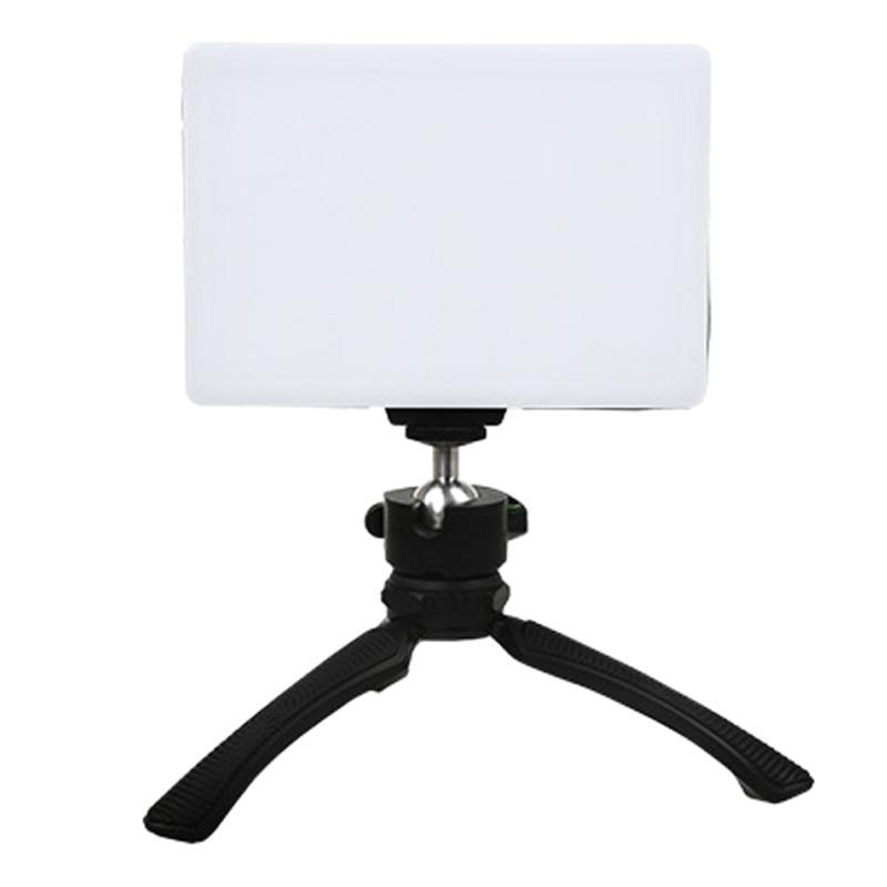 Флэш-головы Pog Po Prom Flat Light LED Live Fill Mell Owner Outload PO 3200-5600K (штекер ЕС)