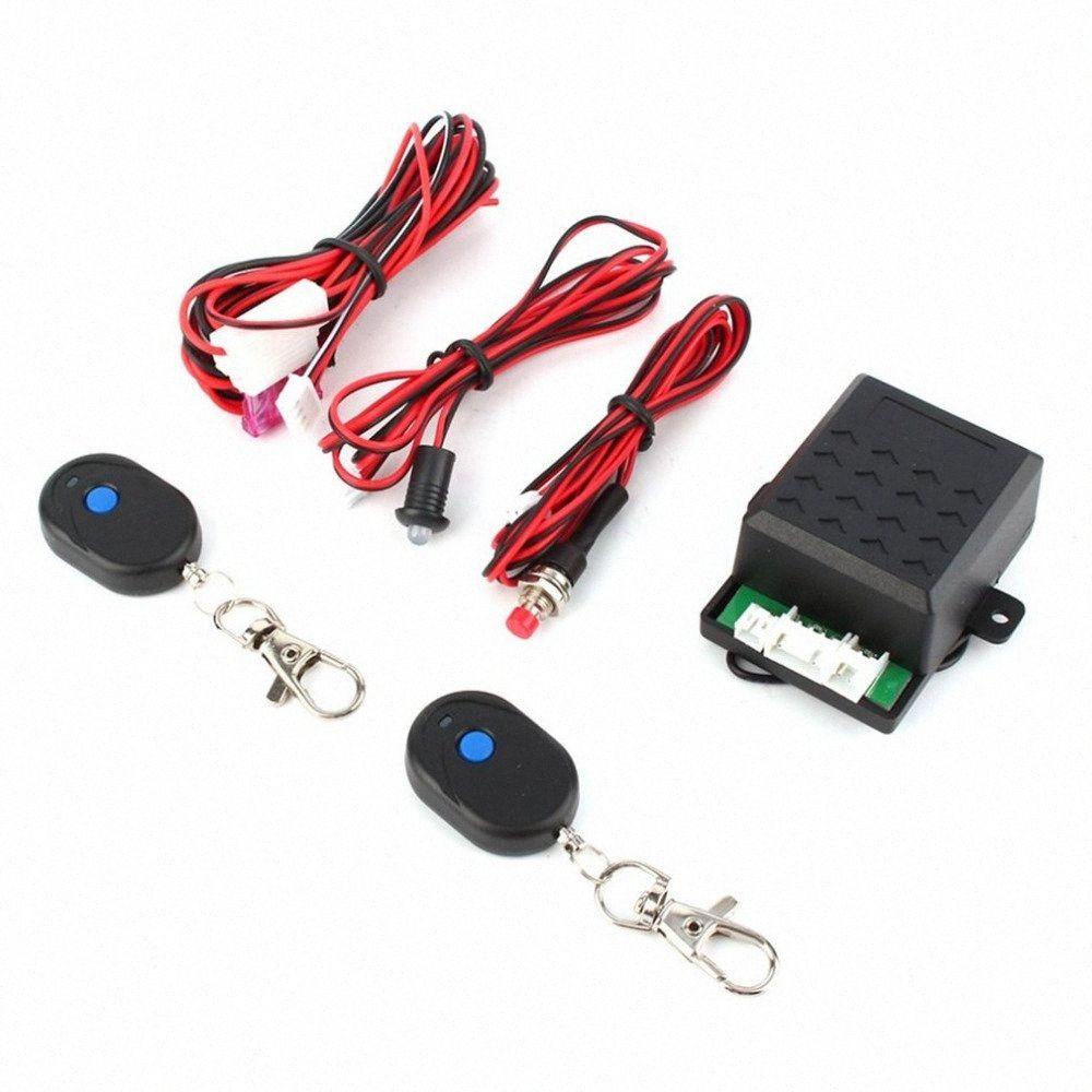 sistema de robo del coche universal inmovilizador de motor de bloqueo anti-robo de Lucha contra el sistema de alarma vendedor caliente de T2Wz #