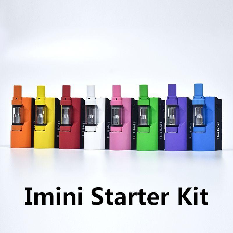 정통 Imini 상자 모 스타터 키트 500mAh 두꺼운 기름 기화기 배터리 0.5 ㎖의 1.0 ㎖ Libery V1 카트리지 100 % 원본과