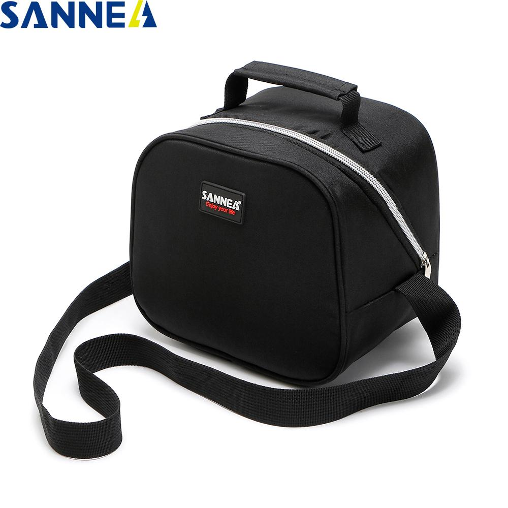 SANNE Portable Multifunction Bag for Food Cooler Ice Box Thermo Cooler Bag for Kids Thermal Food Picnic Cooler Bags for Women MX200717