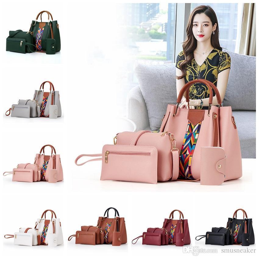style coréen européenne américain nouvelles dames concepteur de sac à bandoulière en cuir PU sac à main trapéziste sept frais de port sans couleur