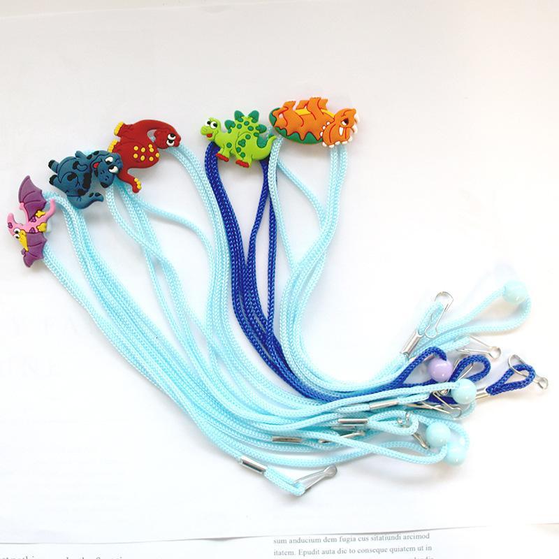 Spedizione animale sveglia regolabile Viso Dhl cordino Comodo Maschera Riposo Holder Ear Rope Maschere di colore della caramella di estensione fibbia Dhf1270