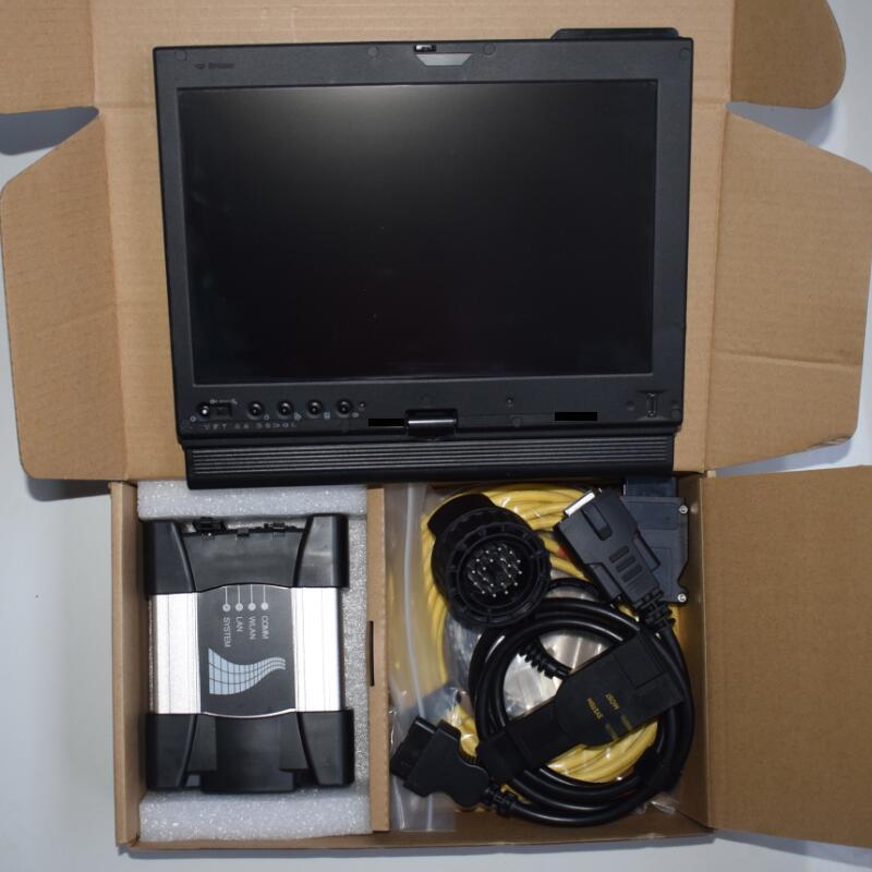 2020.06V para la herramienta de programación de diagnóstico de BMW ICOM ICOM con disco duro de 750 GB en X200t portátil con Corea del total VERSIÓN listo para trabajar