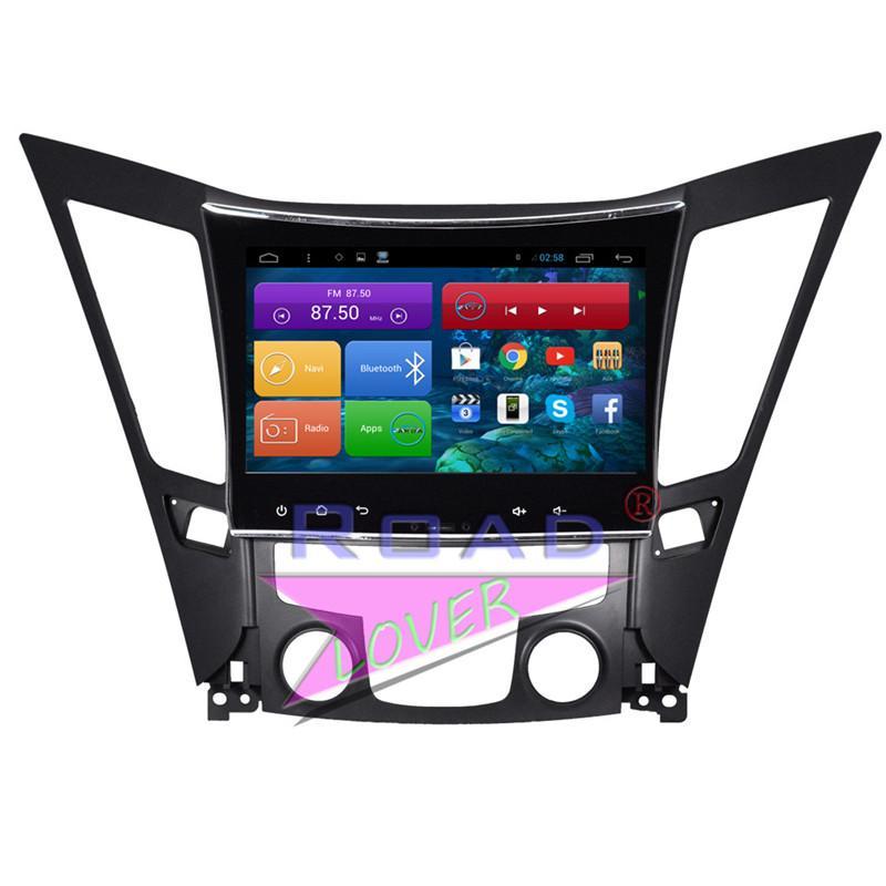 Roadlover Android 6.0 GPS del coche Navegación Para Sonata 2011 2012 2013 2014 2020 estéreo Magnitol Jugador 2 Din Radio No DVD